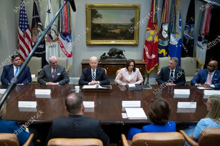 Editorial image of Biden Meets Bipartisan Governors and Mayors, Washington, District of Columbia, USA - 14 Jul 2021
