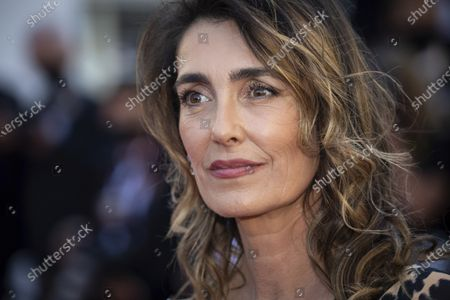Mademoiselle Agnes poses for photographers upon arrival at the premiere of the film 'The Story of My Wife' at the 74th international film festival, Cannes, southern France