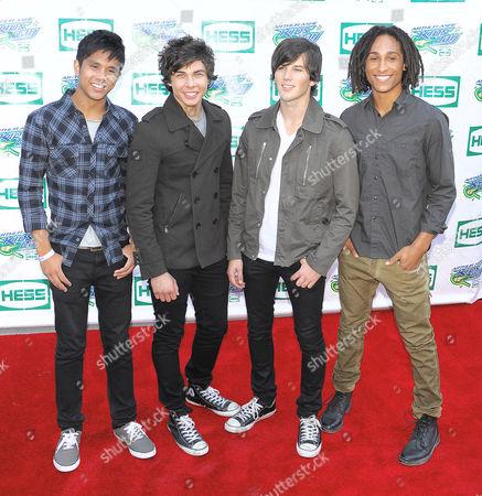 Allstar Weekend - Michael Martinez, Cameron Quiseng, Zach Porter and Nathan Darmody