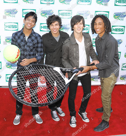 Stock Picture of Allstar Weekend - Michael Martinez, Cameron Quiseng, Zach Porter and Nathan Darmody