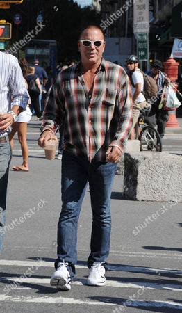Editorial photo of Mickey Rourke and Elena Kuletskaya out and about, New York, America - 28 Aug 2010