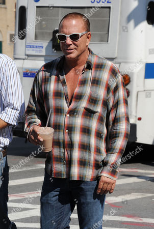 Stock Picture of Mickey Rourke