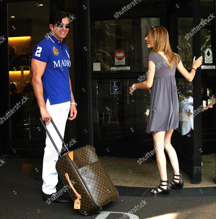 Editorial image of Dr. Robert Rey, AKA Dr. 90210, takes his family to a vacation in Sao Paulo, Brazil - 27 Aug 2010