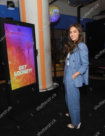 Editorial picture of Ashton Kutcher and Jessica Alba join AT&T to celebrate the brand's latest 5G-enabled collaborations, New York, USA - 14 Jul 2021