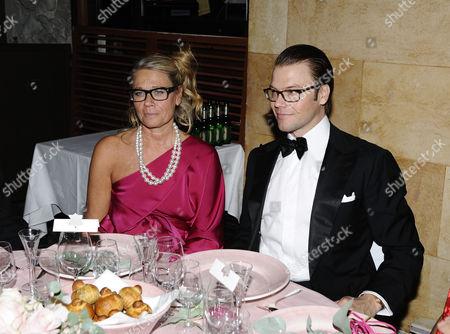 Marie Ledin and Prince Daniel