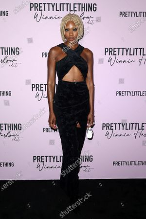 Editorial image of PrettyLittleThing Winnie Harlow EDIT Launch Party, Arrivals, Los Angeles, California, USA - 14 Jul 2021