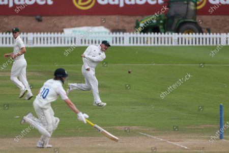 Editorial picture of Durham v Nottinghamshire - LV= County Championship, Chester Le Street, United Kingdom - 14 Jul 2021