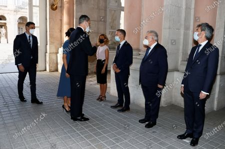 Editorial photo of State tribute for COVID-19 victims in Spain, Madrid - 15 Jul 2021