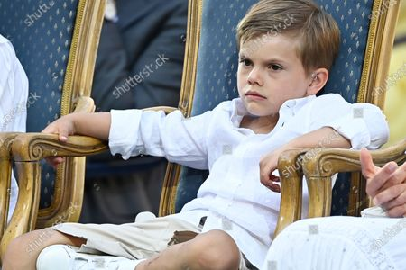 Editorial image of Crown Princess Victoria's 44th birthday celebrations, Borgholm Castle, Oland, Sweden  - 14 Jul 2021