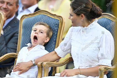 Editorial photo of Crown Princess Victoria's 44th birthday celebrations, Borgholm Castle, Oland, Sweden  - 14 Jul 2021