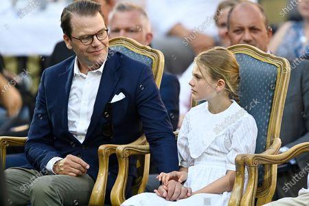 Prince Daniel and Princess Estelle