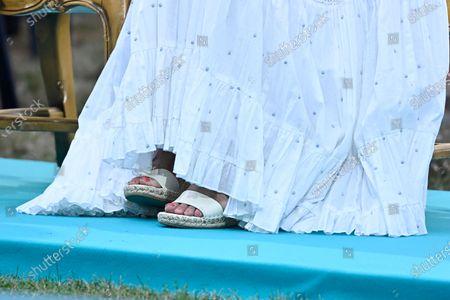 Crown Princess Victoria, shoe detail