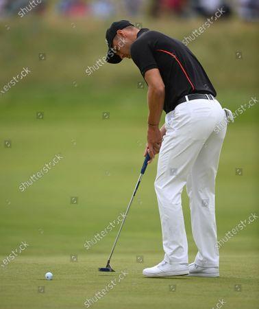 Editorial photo of Golf The Open 2021 -  First Round, Sandwich, United Kingdom - 15 Jul 2021