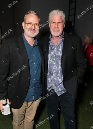 Director Morgan Neville and Ron Perlman