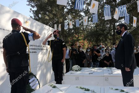 Editorial photo of Anniversary of the military coup in Cyprus, Nicosia - 15 Jul 2021