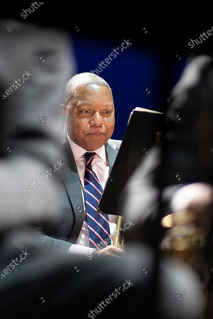 Editorial photo of Jazz at Lincoln Center Orchestra with Wynton Marsalis, 'Noches Del Botanico' 2021 Festival, Madrid, Spain - 13 Jul 2021