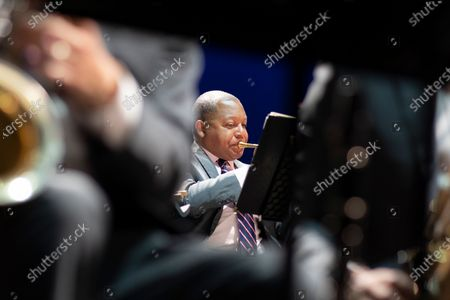 Editorial image of Jazz at Lincoln Center Orchestra with Wynton Marsalis, 'Noches Del Botanico' 2021 Festival, Madrid, Spain - 13 Jul 2021