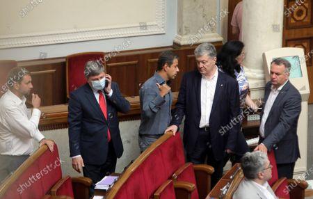 Editorial photo of Verkhovna Rada sitting on July 15, 2021, Kyiv, Ukraine - 15 Jul 2021