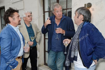 Richard Hammond, John Graham, Jeremy Clarkson and Brian Klein