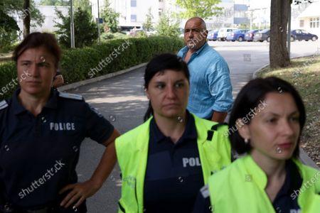 "Editorial image of Boyko Borissov, General Directorate ""National Police"", Sofia, Bulgaria - 15 Jul 2021"