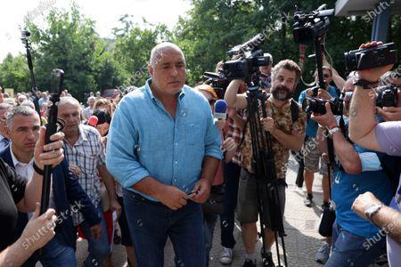 """Editorial picture of Boyko Borissov, General Directorate """"National Police"""", Sofia, Bulgaria - 15 Jul 2021"""