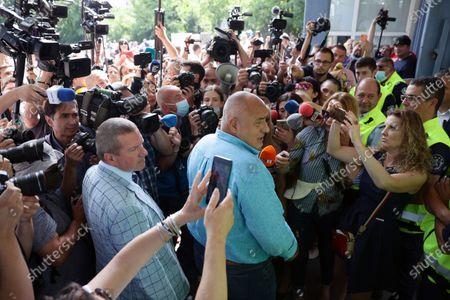 "Editorial photo of Boyko Borissov, General Directorate ""National Police"", Sofia, Bulgaria - 15 Jul 2021"