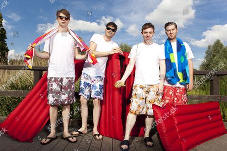 Everything Everything - Alex Robertshaw, Jeremy Pritchard, Jon Higgins and Mike Spearman