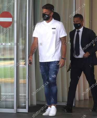 Editorial image of New AC Milan's player Olivier Giroud, Italy - 15 Jul 2021