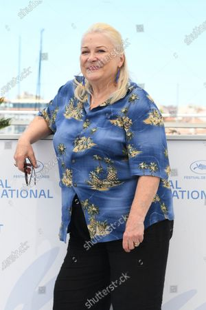 """Josiane Balasko attends the """"Tralala"""" photocall during the 74th annual Cannes Film Festival on July 14, 2021 in Cannes, France"""