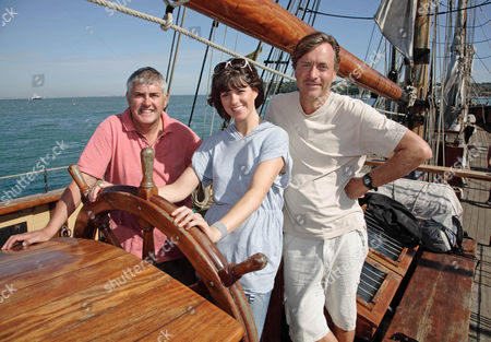 Nick Hancock Dawn Porter and Richard Madeley