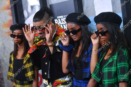 D'Lila Star Combs, Quincy Brown, Chance Combs and Jessie James Combs