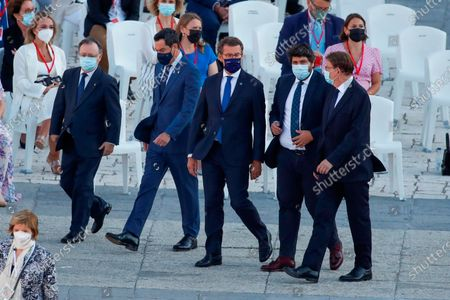 Editorial image of King of Spain attends the Act of State Tribute to the victims of covid-19, Madrid, Spain - 15 Jul 2021