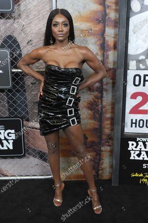 "Patina Miller attends the world premiere of ""Power Book III: Raising Kanan"" at the Hammerstein Ballroom, in New York"