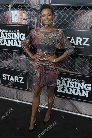 """Editorial picture of World Premiere of """"Power Book III: Raising Kanan"""", New York, United States - 15 Jul 2021"""