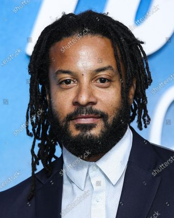 Actor Brandon Jay Mclaren arrives at the Disney+ 'Turner & Hooch' Los Angeles Premiere Event held at the Westfield Century City Mall on July 15, 2021 in Century City, Los Angeles, California, United States.