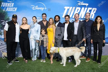 Editorial image of Disney+ 'Turner & Hooch premiere, Los Angeles, California, USA - 15 Jul 2021