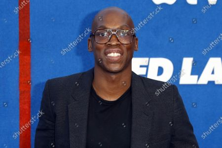 Moe Jeudy-Lamour poses prior to the premiere of the Apple's 'Ted Lasso' Season 2 at Pacific Design Center in Hollywood, California, USA, 15 July 2021. The second season of the TV show will air on July 23, 2021.
