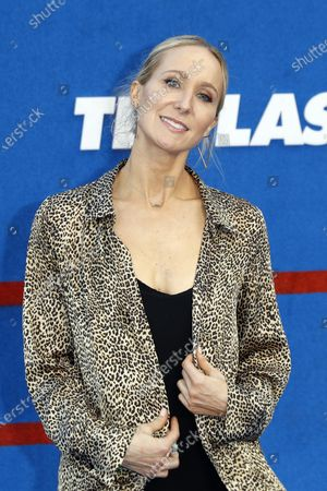 Nikki Glaser poses prior to the premiere of the Apple's 'Ted Lasso' Season 2 at Pacific Design Center in Hollywood, California, USA, 15 July 2021. The second season of the TV show will air on July 23, 2021.
