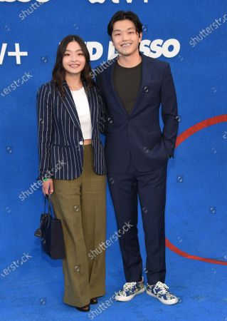 Stock Image of Maia Shibutani and Alex Shibutani