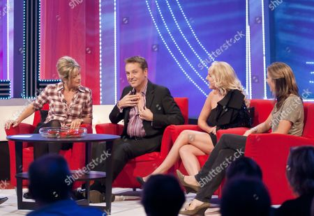 Penny Smith, Brian Conley, Kerry Ellis and Jo Pratt