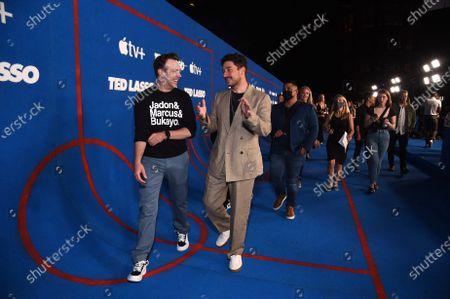 "Editorial photo of Apple's ""Ted Lasso"" Season Two Premiere at the Pacific Design Center, Los Angeles, California, USA - 15 Jul 2021"