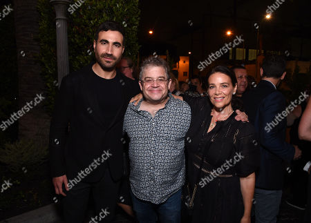 """Brett Goldstein, Patton Oswalt and Meredith Salenger attend Apple""""s """"Ted Lasso"""" season two premiere after party. """"Ted Lasso"""" season two will premiere globally on Apple TV+ on July 23rd."""