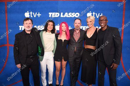 "Editorial picture of Apple's ""Ted Lasso"" Season Two Premiere at the Pacific Design Center, Los Angeles, California, USA - 15 Jul 2021"