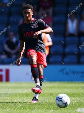 Stock Image of James Hill of Fleetwood Town