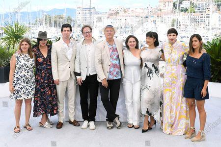 Stock Image of Amanda Livanou, Karen Duffy, Andrew Musato, Bill Murray, Jan Vogler, Vanessa Perez, Mira Wang, Tanja Dorn and Emma Doxiadi