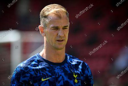 Stock Picture of Joe Hart of Tottenham Hotspur