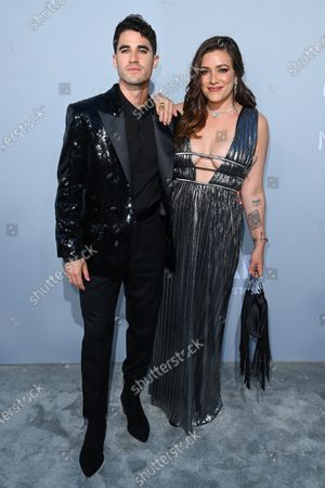 Stock Picture of Darren Criss and Mia Swier