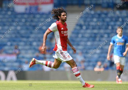 Stock Image of Mohamed Elneny of Arsenal