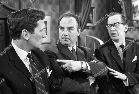 Jerome Willis, Reginald Marsh and Bernard Hepton