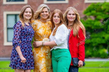 Editorial image of Dutch Royal family summer photo session at Huis ten Bosch Palace, The Hague, The Netherlands - 16 Jul 2021